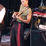 Playing Bass at the Britt Festival