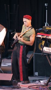Playing Bass at the Britt Festival