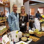 Donnie and Jen at American Herbalist Guild Conference - 2015