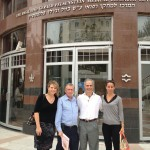Donnie, Jen, Biunky (Professor Sredni) and Sharon at Rabin Medical Center