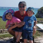Donnie and the Kids in Tulum