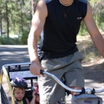 Donnie Biking with the Kids